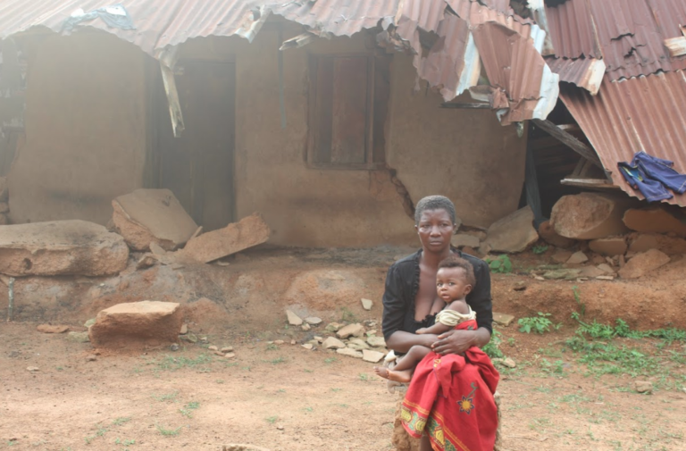 I Cried Because I Didn't Have Where To Sleep – Woman Says After Govt Demolishes Her House For An Airport Project