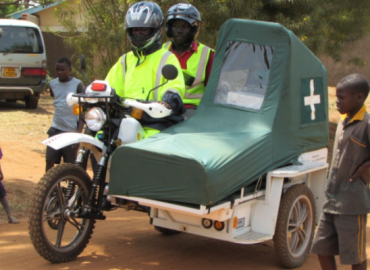 African Communities Where Motorcycles Ambulance Are Now Alternatives