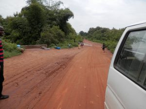 Road to Kanzo community