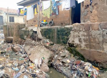 Kwara residents lament how poorly executed multi-million Saraki erosion control constituency project adversely affecting them