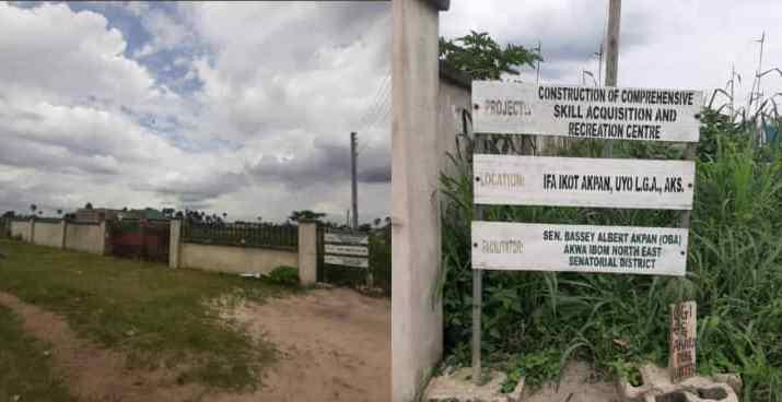 Despite N190 Million Allocation, Awka Ibom Skill Acquisition Centre Remains Abandoned