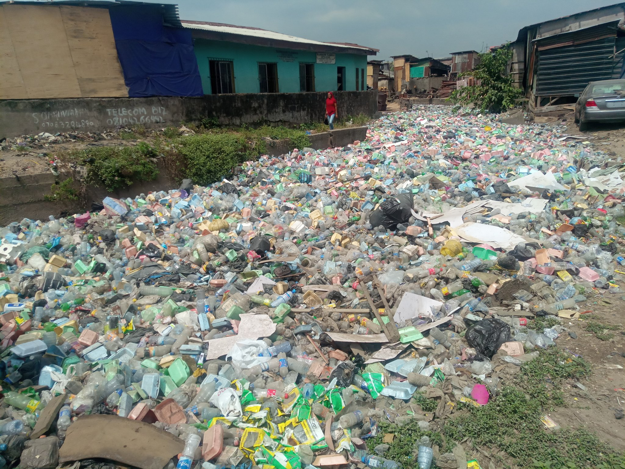 Four years after, Lagos multi-million naira water channel remains abandoned