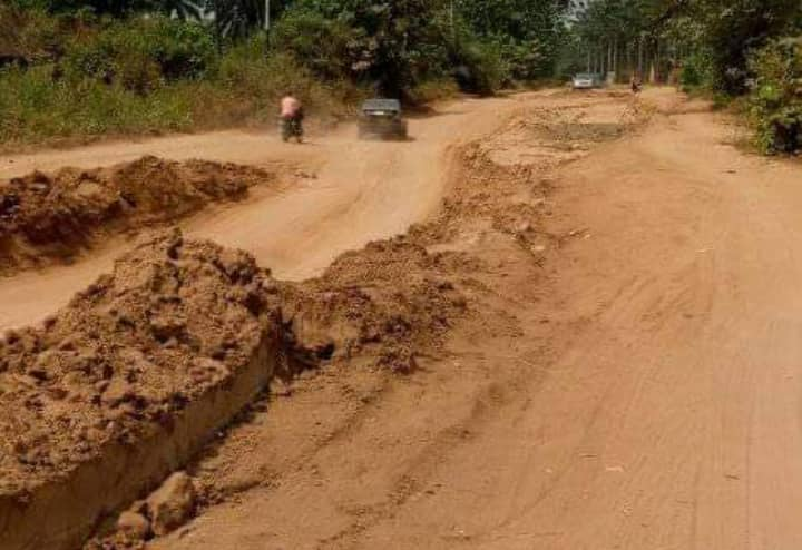 12 years after, Port Harcourt Aba express road remains abandoned