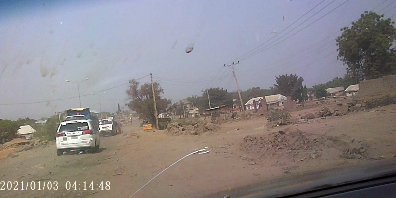 Travelers groan, Lokoja city centre road in terrible condition