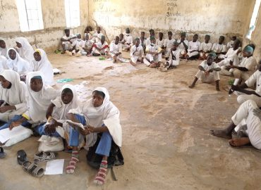 Despite billions expended on education, Kano state students learn sitting on floor