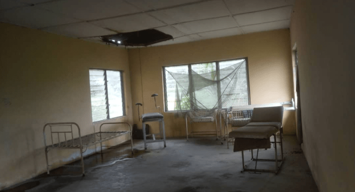Akwa Ibom Community residents groan over dilapidated hospital