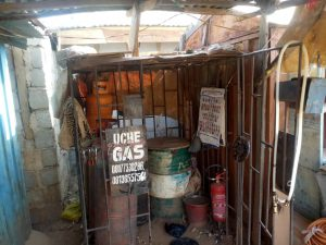 This is Uche's shop