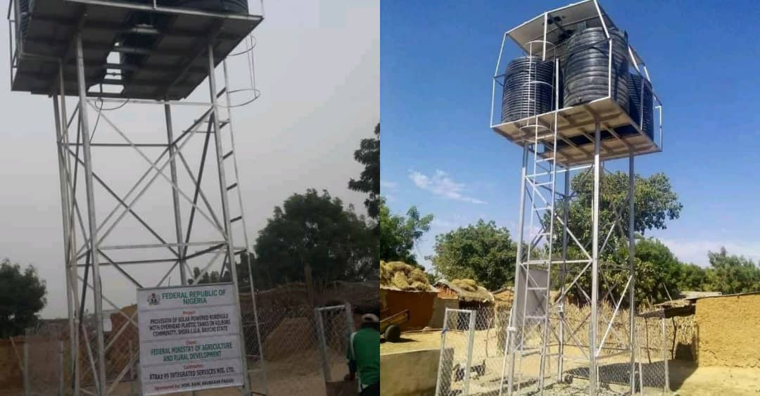 Bauchi lawmaker constructs two boreholes for N5o million