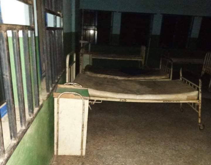 Kogi General Hospital in a Dilapidated Condition