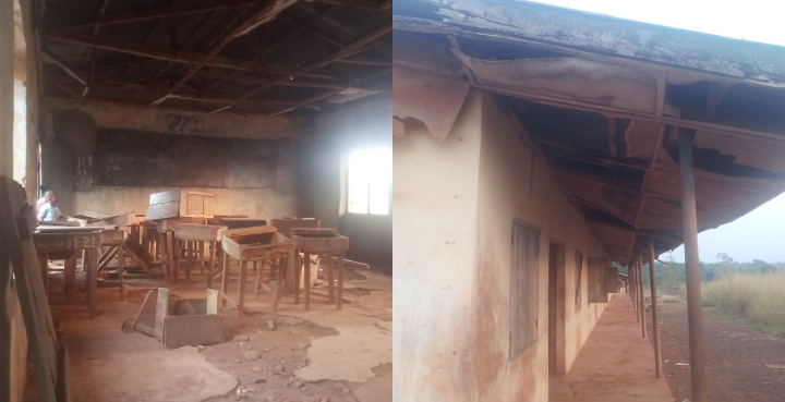 Govt Science School Akpanya students learn under terrible condition