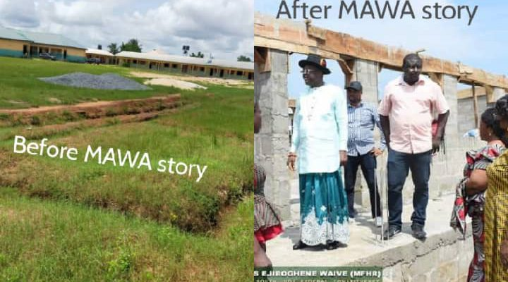 Work resumes on abandoned school project a month after MAWA exposed officials